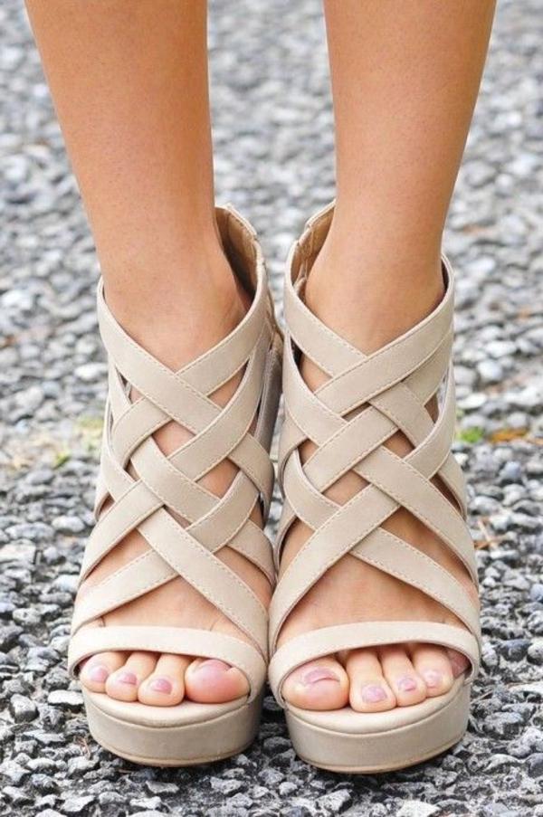 plus grand choix de 2019 nouvelles photos bonne vente Les sandales compensées, un vrai hit de l'été 2015 !