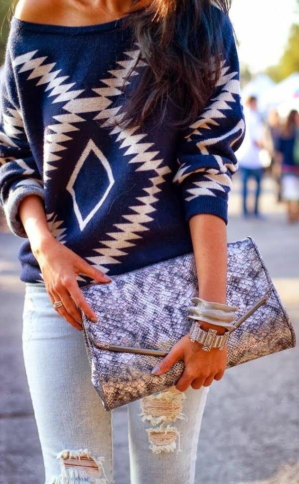 Le jean boyfriend femme 70 id es comment le porter - Tenue originale femme ...