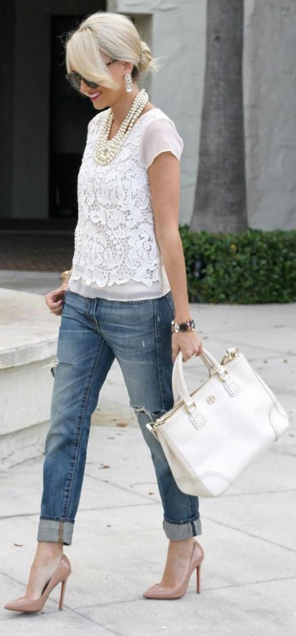 femme-jean-boyfriend-tenue-sac-a-main-perles
