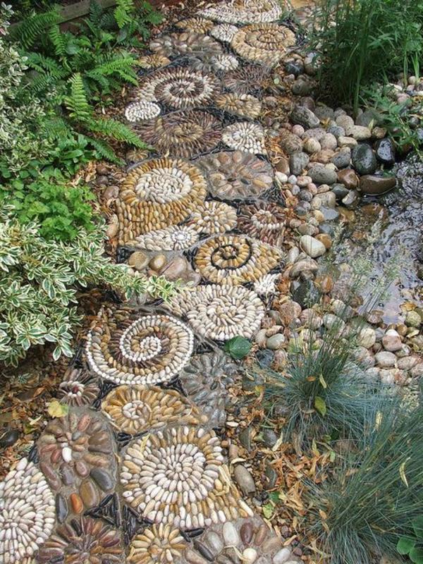 galets-décoratifs-gravier-pour-allée-jardin-vert