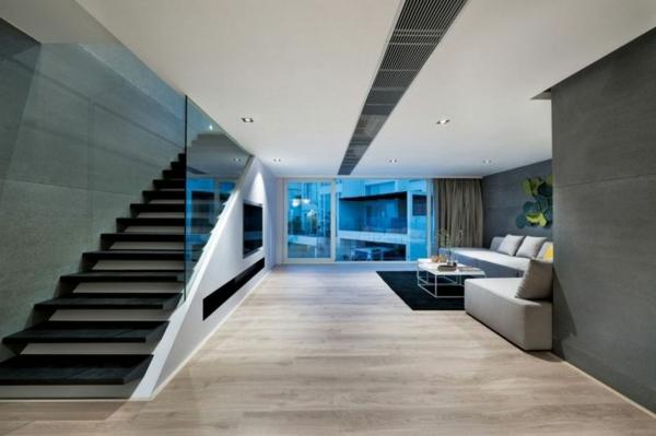garde-corps-en-verre-intérieur-minimaliste-stylé