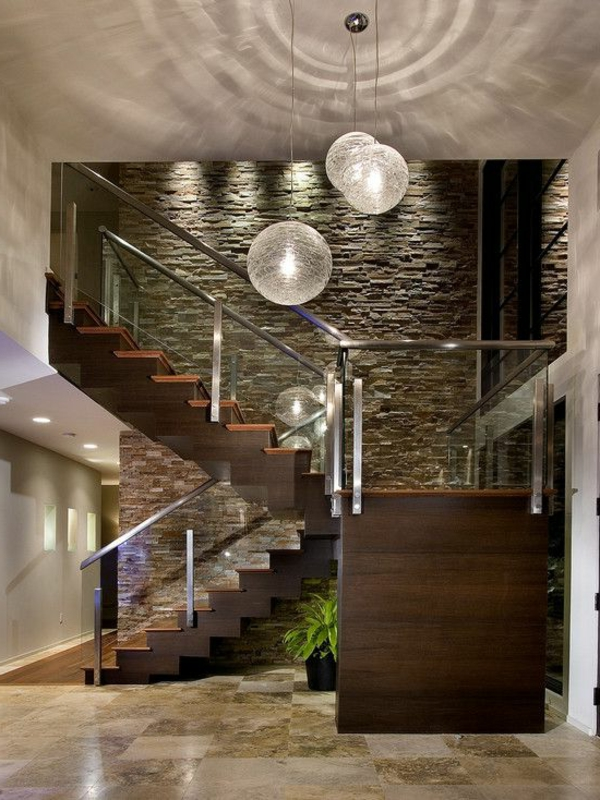 Designs D Escaliers Avec Garde Corps En Verre