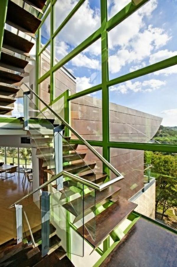garde-corps-en-verre-mur-transparent-encadrement-vert