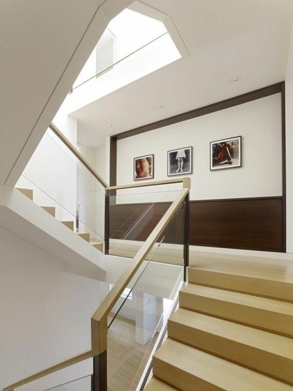 Designs d 39 escaliers avec garde corps en verre for Garde meuble piano