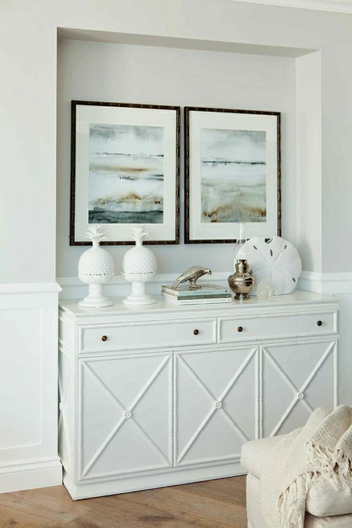 grand-meuble-entrée-salon-sol-en-parquet-peintres-murales-commode-blanc