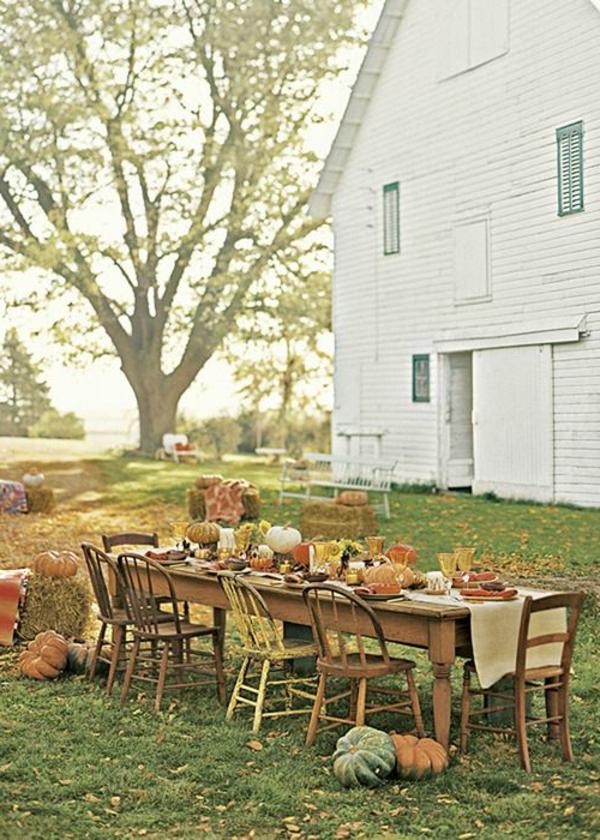grande-table-de-jardin-déjeuner-ensemble-famille-grande-maison-en-bois-grande