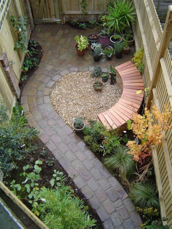 Cr er le plus beau jardin avec le gravier pour all e for Decoration originale pour le jardin