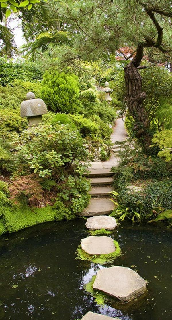 gravier-allée-jardin-beau-petit-lac-décoratif