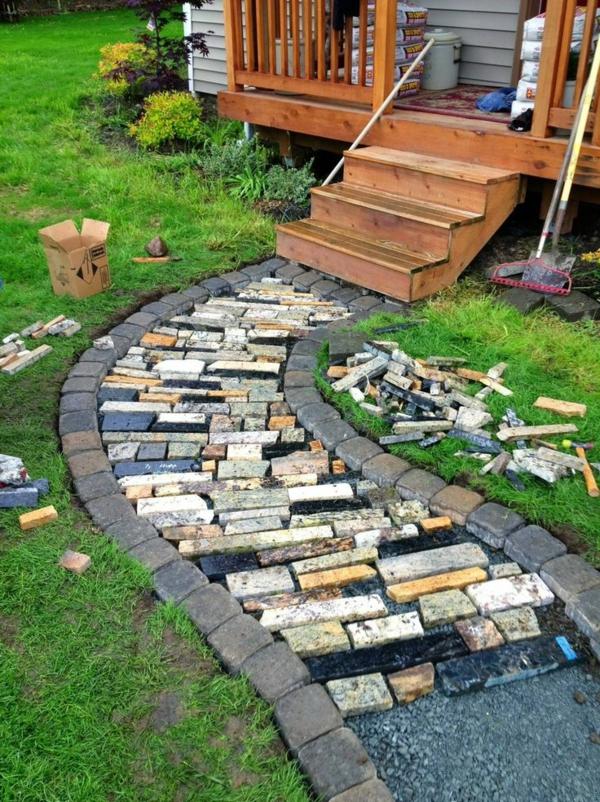 Cr er le plus beau jardin avec le gravier pour all e for Idee de parterre de jardin