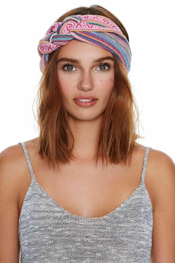Quel type de bandeau cheveux pour votre coiffure - Coiffure headband cheveux courts ...