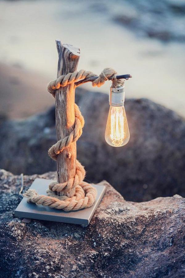 idée-créative-lampe-de-chevet-en-bois