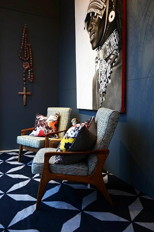 idée-déco-salon-mur-original-tableau