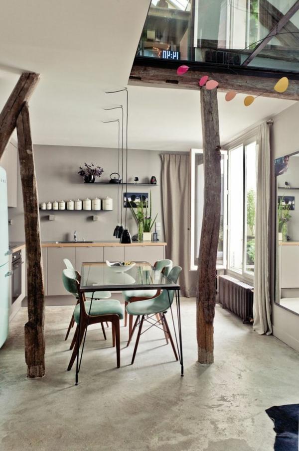 idee-deco-cuisine-moderne-jolie-tabole-a-manger-chaises