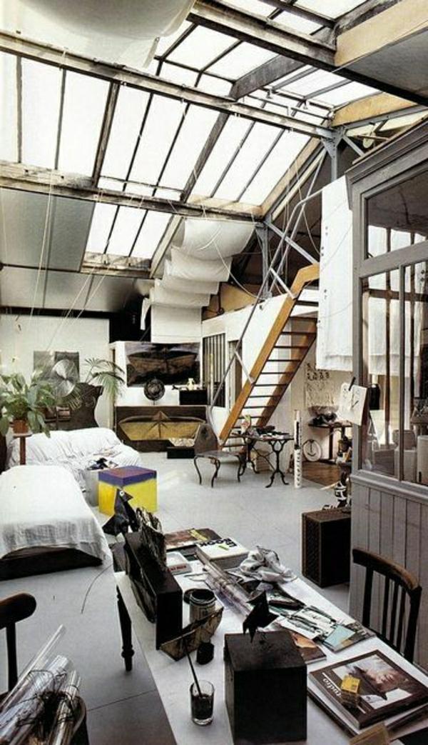 idustrial-salon-idée-déco-moderne