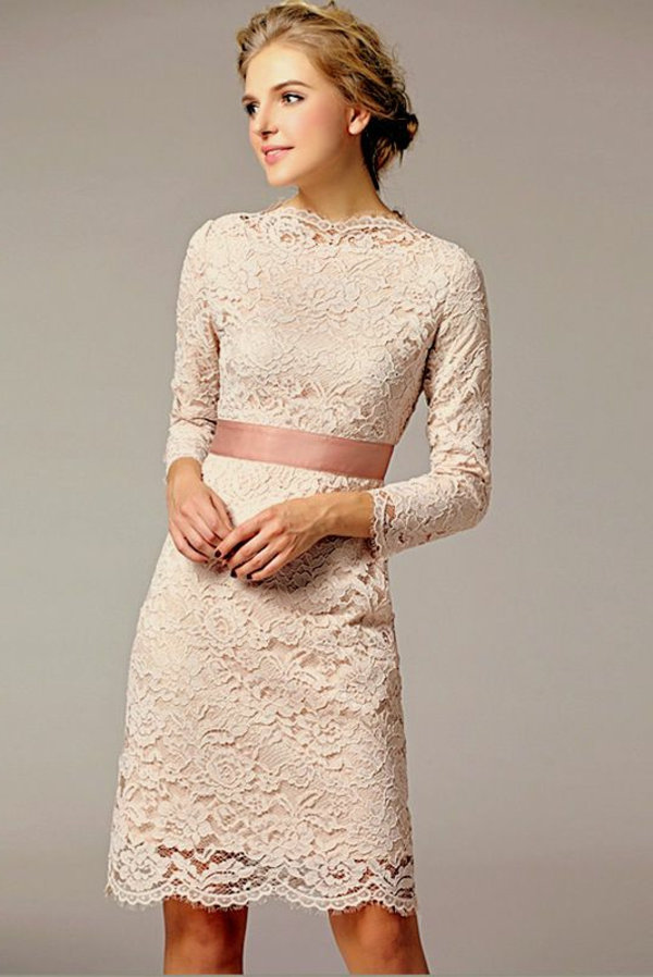 inspiration-robe-princesse-courte-en-rose-elle-va-porter-pour-se-marier