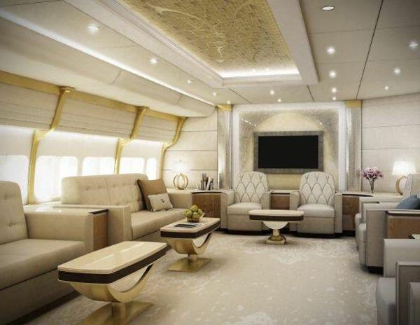 Le jet priv de luxe en 50 photos for Un salon de luxe