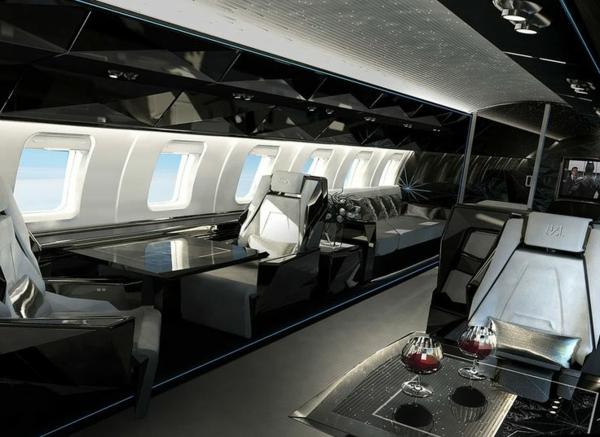 intérieur-de-luxe-jet-fly-intérieur-noir-luxe
