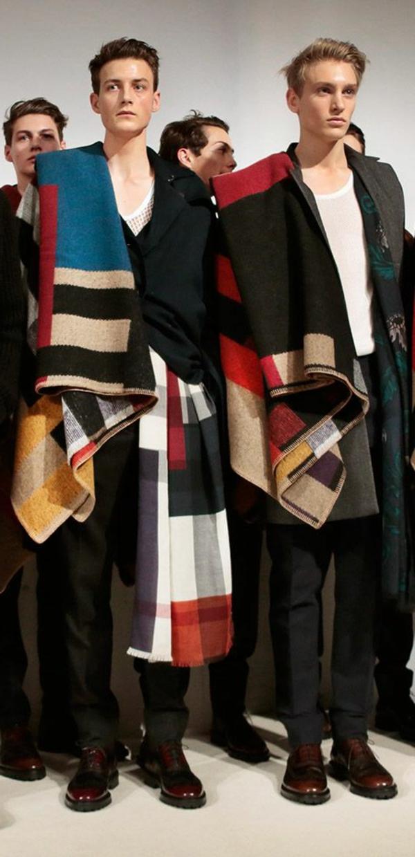 jolies-écharpes-burberry-accessoires-les-modeles