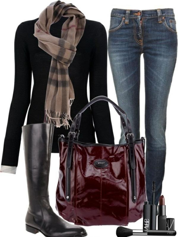 jolies-écharpes-burberry-accessoires-tenue