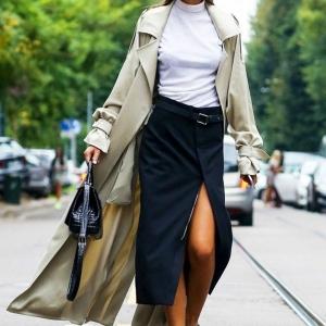 Les tenues avec la jupe portefeuille