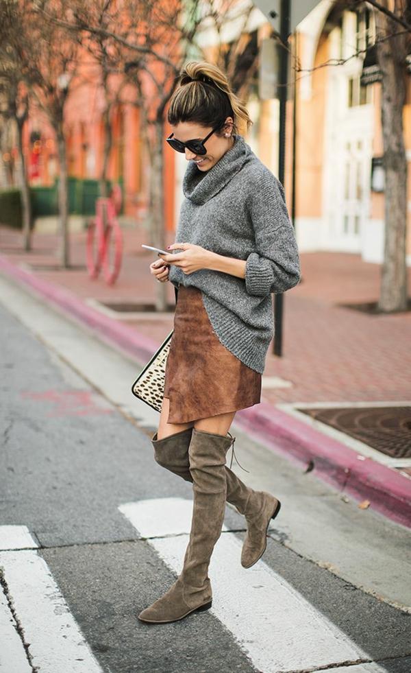 jupe-portefeuille-longues-bottes-en-velours