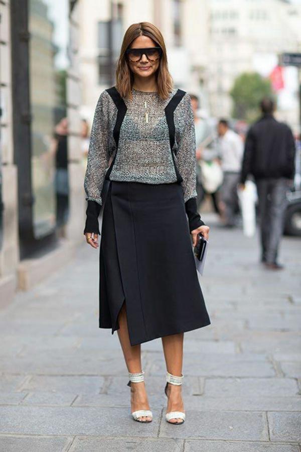 jupe-portefeuille-longueur-élégante