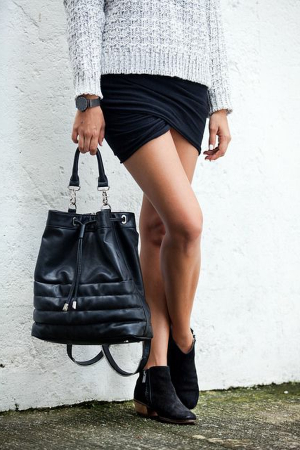 jupe-portefeuille-mini-jupe-noire
