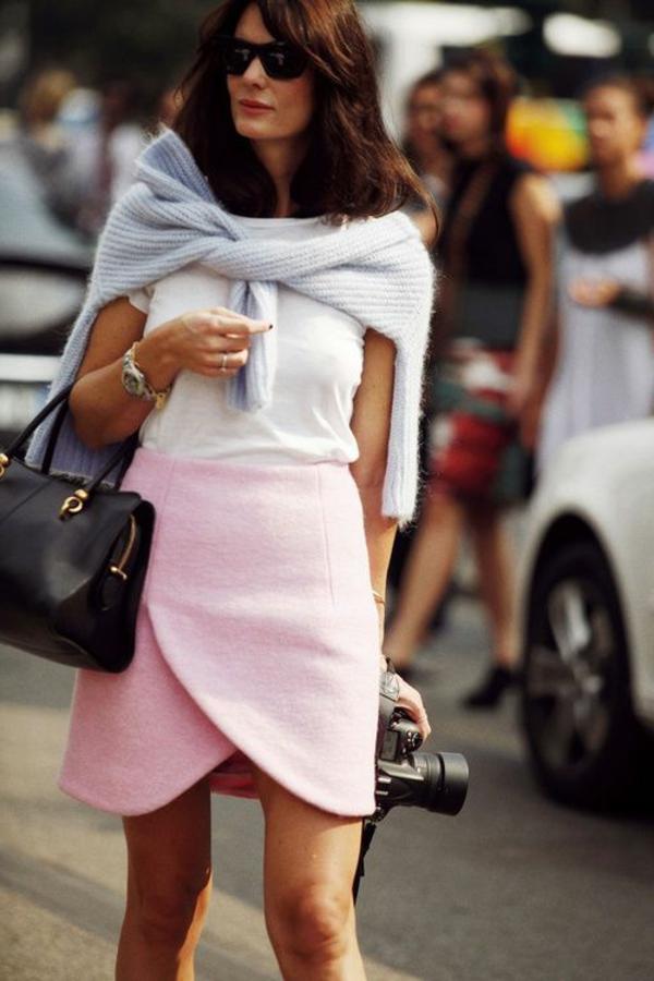 jupe-portefeuille-rose-courte