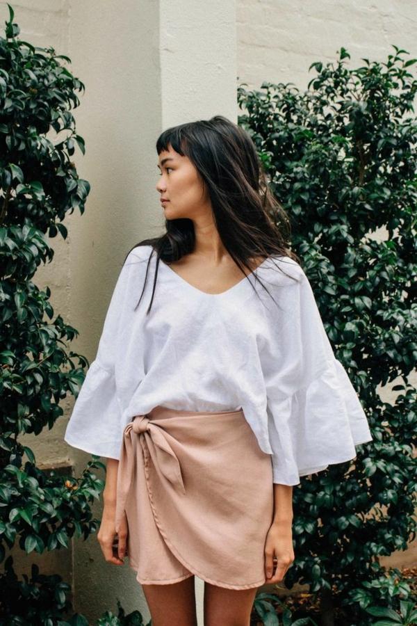 jupe-portefeuille-tenue-cosy-pour-l'été