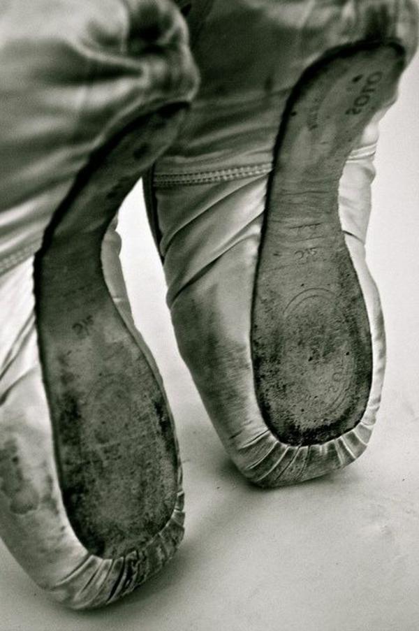 la-danseuse-Ballet-Pointe-danse-Toe-chaussures-de-ballet-danse-ballerina