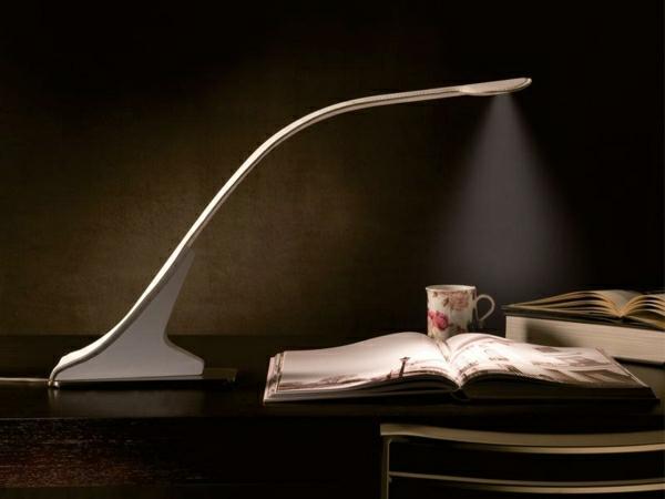 lampe-de-lecture-livre-bureau-de-travail-en-bois-blanc-chambre-noir