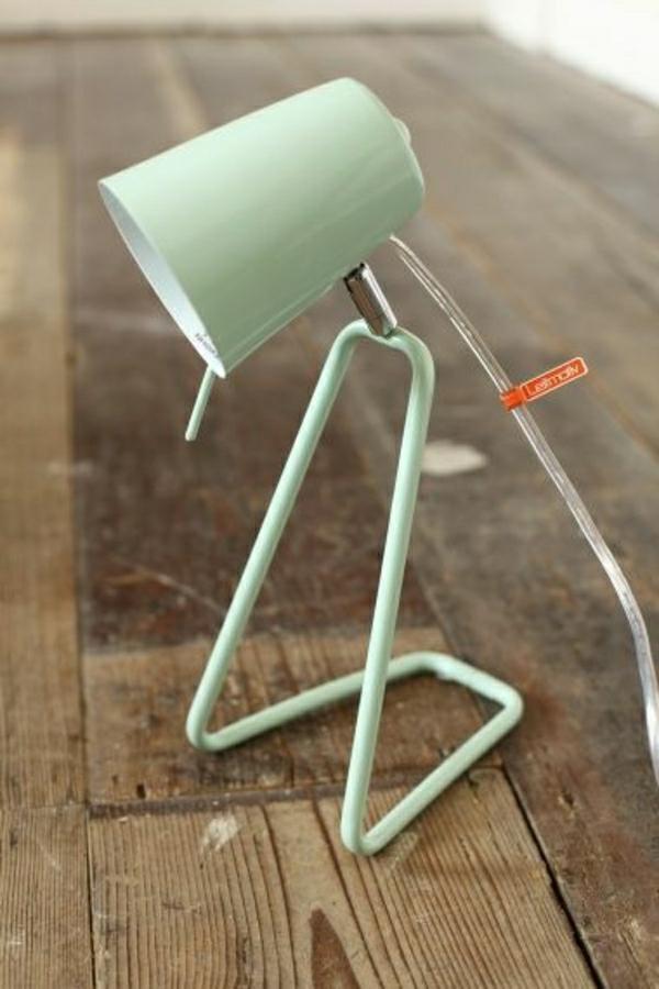 lampe-pour-lecture-table-en-bois-lampe-en-fer-vert-moderne