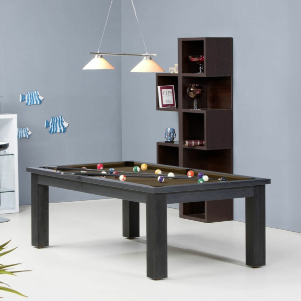le-billard-table-contemporaire-lustre-idee-bois-brune-convertible-à-table-à-manger-resized