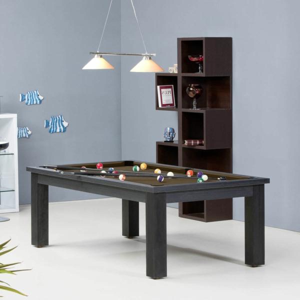 la table billard convertible une solution jolie et pratique pour la salle de s jour. Black Bedroom Furniture Sets. Home Design Ideas