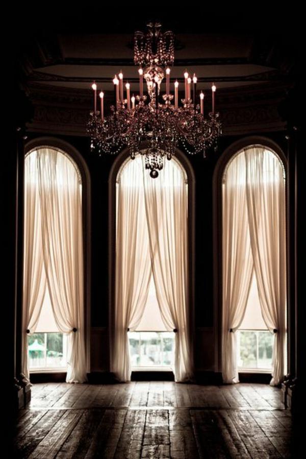 lustre-en-cristal-architecture-originale