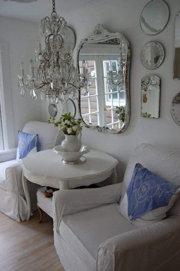 lustre-en-cristal-miroir-baroque