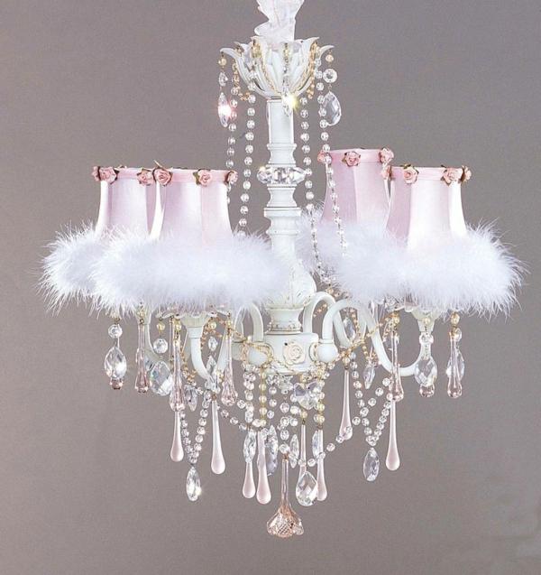 lustre-en-cristal-plafonnier-adorable-en-rose