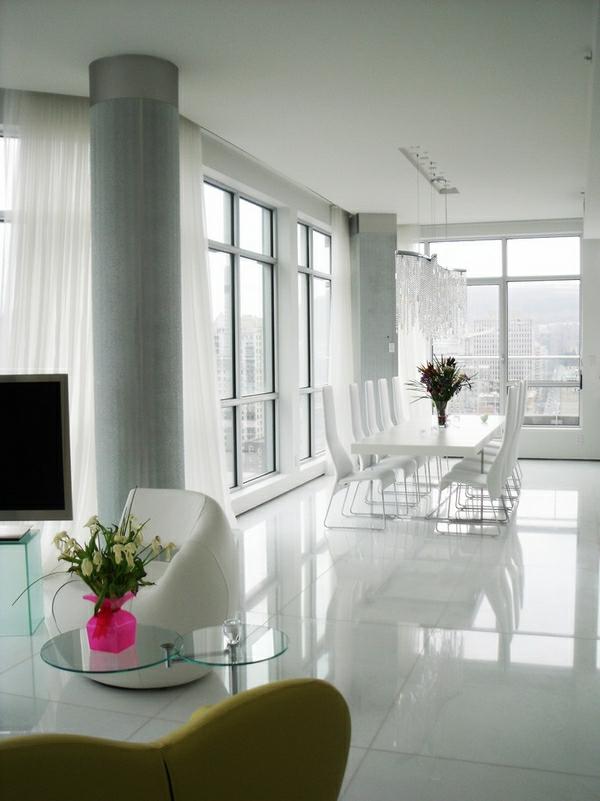 lustre-en-cristal-salle-de-déjeuner-super-élégante