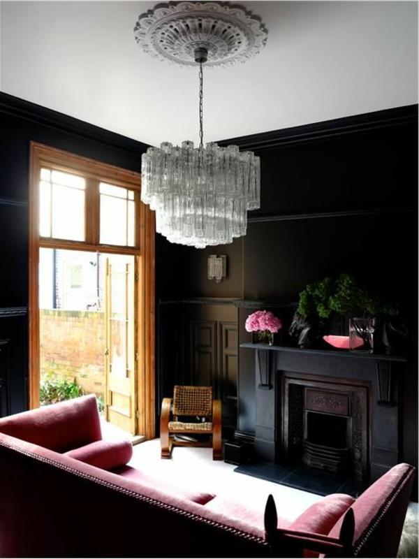 lustre-en-cristal-splendide-une-salle-vintage