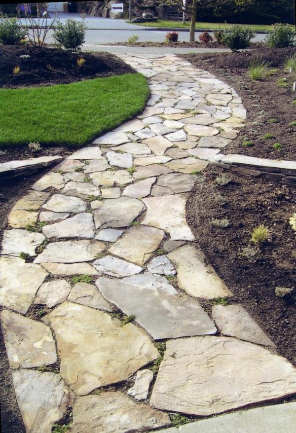 cr er le plus beau jardin avec le gravier pour all e. Black Bedroom Furniture Sets. Home Design Ideas