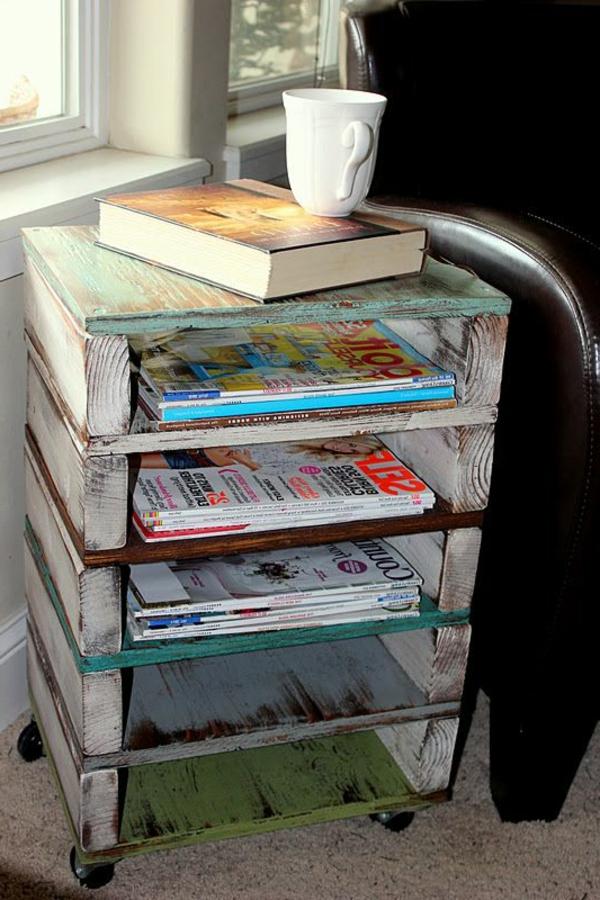 50 id es pour une table basse avec palette for Idee de deco palette en bois