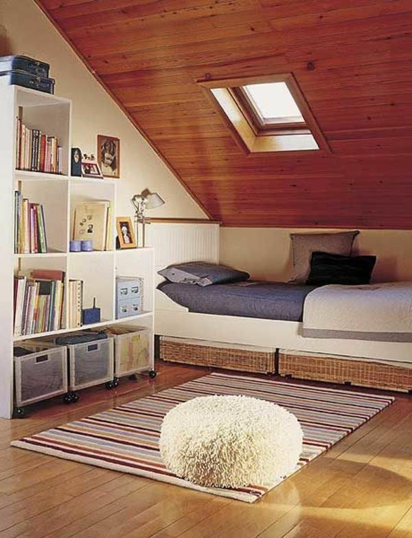 meuble-sous-pente-chambre-à-coucher