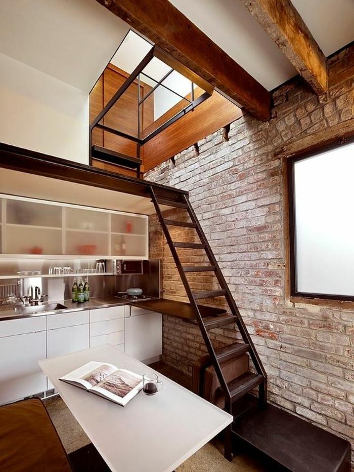 Escalier Mezzanine Petit Espace