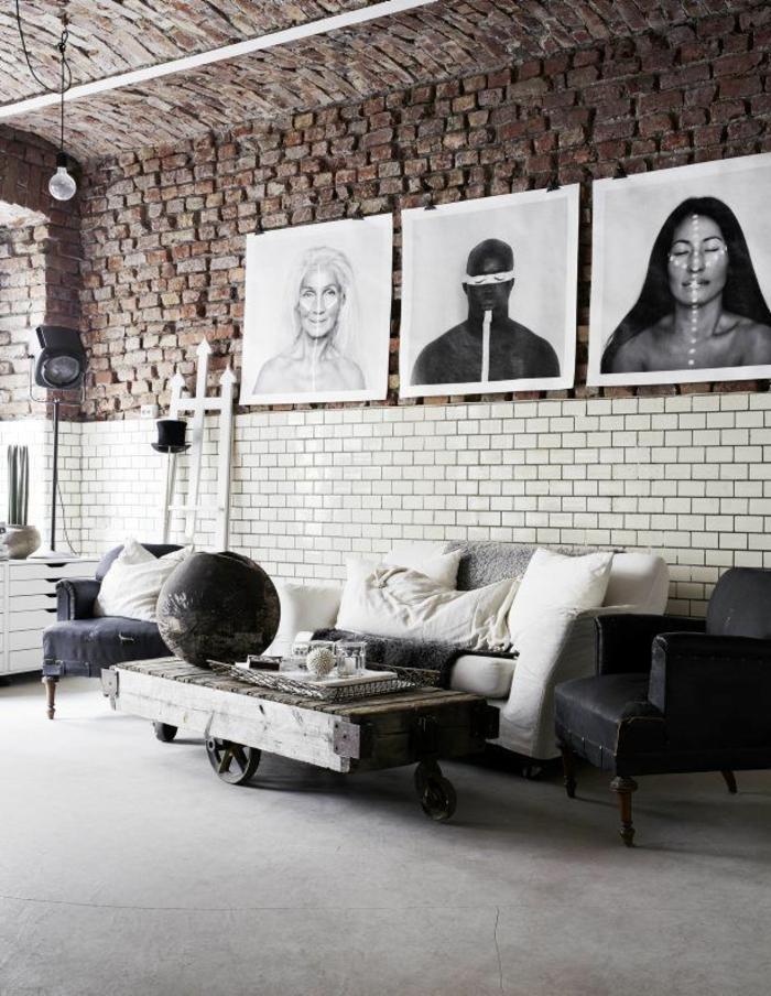 mur-en-brique-table-loft-ruqtique-et-mur-en-briques