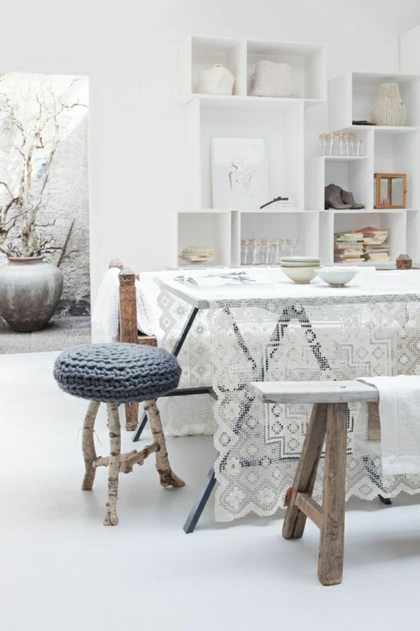 nappe-de-table-cirée-blanche-déco-blanc-cuisine-confortable
