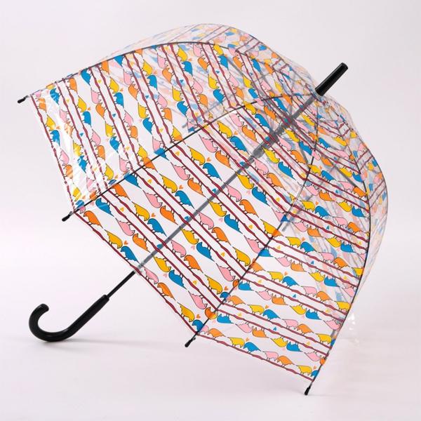 parapluie-transparent-à-jolis-motifs