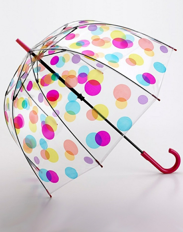 parapluie-transparent-design-joli-pointillé