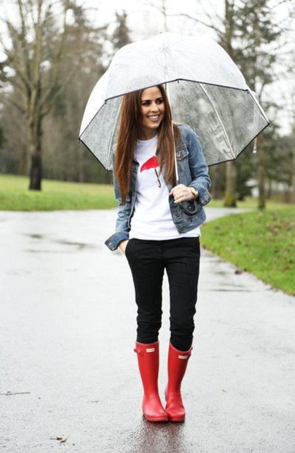 parapluie-transparent-et-bottes-rouges