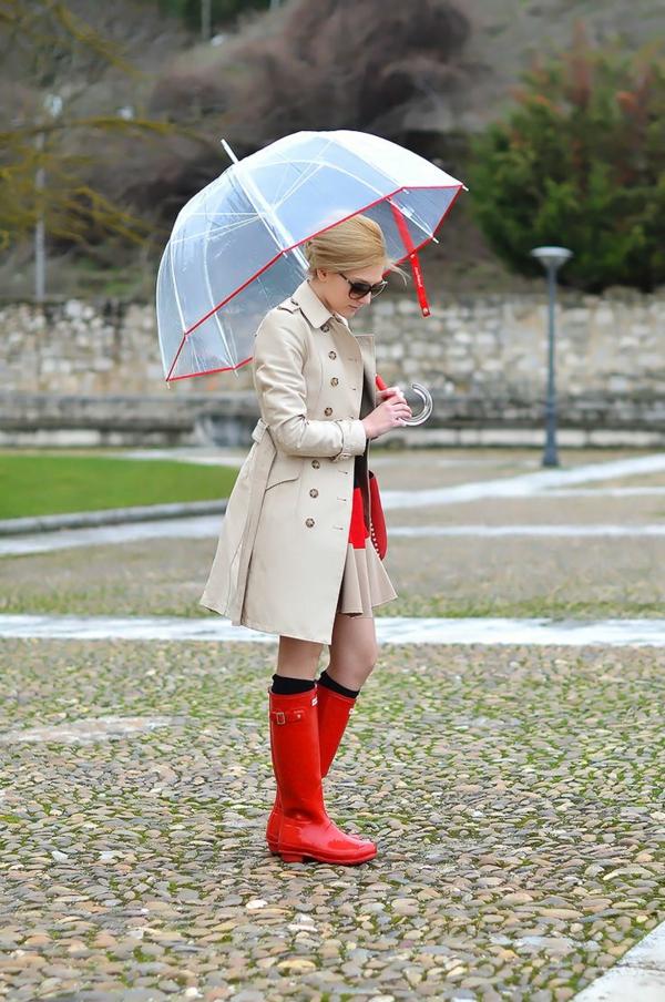 parapluie-transparent-outfitèidéal-pour-les-jours-pluvieux