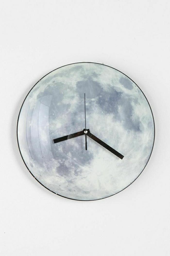 L 39 horloge murale id es en photos pour d corez vos murs - Quel blanc pour les murs ...